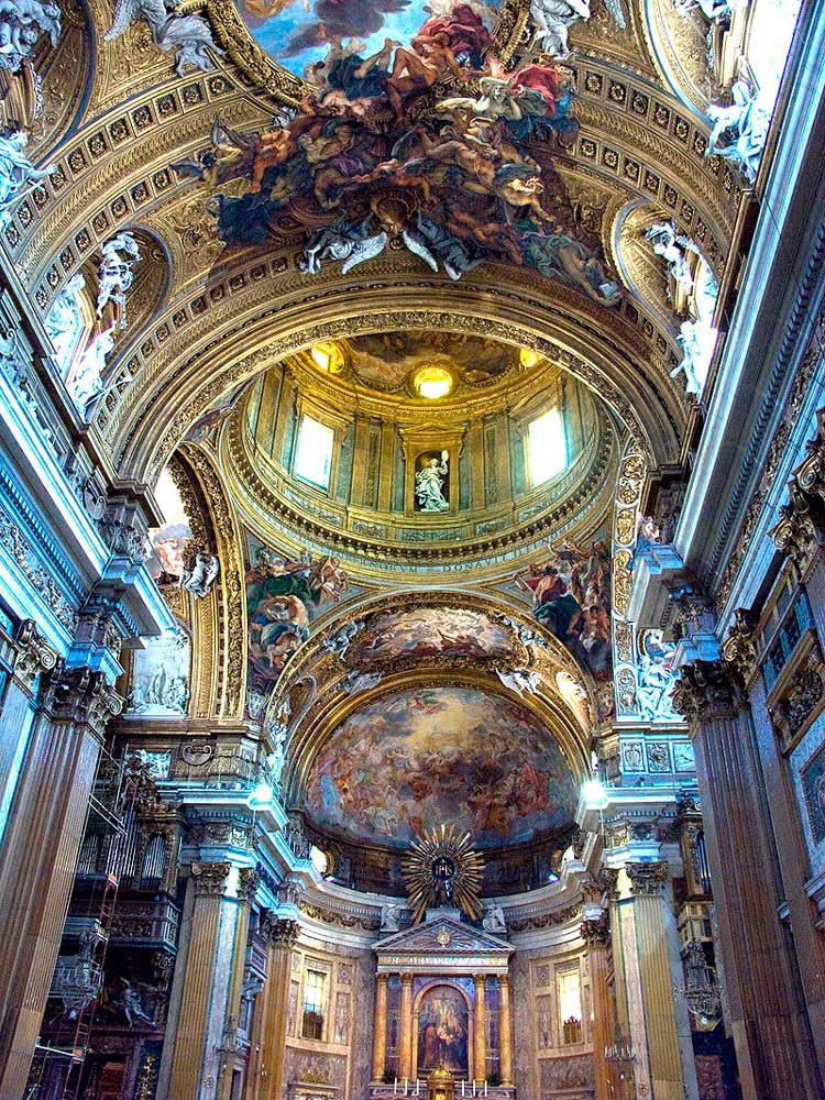 достопримечательности церкви базилики рима эпоха возрождения что посмотреть куда сходить в риме интересные места красивые фото рима иль джезу