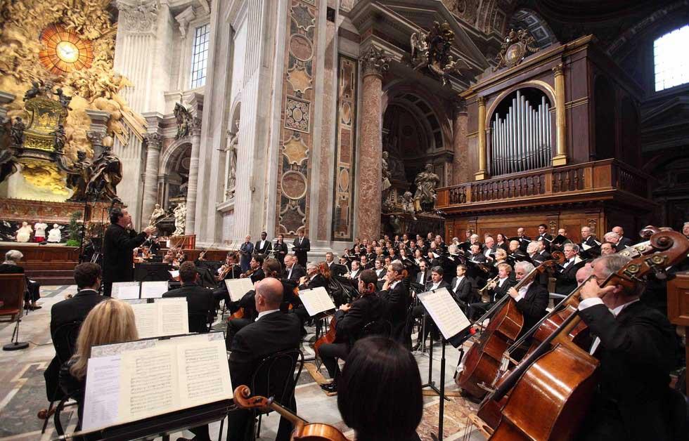 Пасхальный фестиваль музыки традиционно проводят в базиликах и церквях Рима
