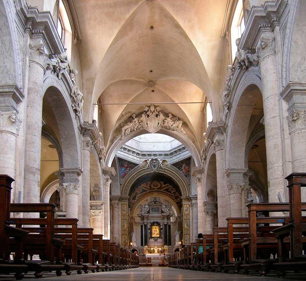 церкви базилики достопримечательности Рима куда сходить что посмотреть в Риме Санта Мария дель Пополо Рафаэль Санти Лоренцо Бенини Пинтуриккио