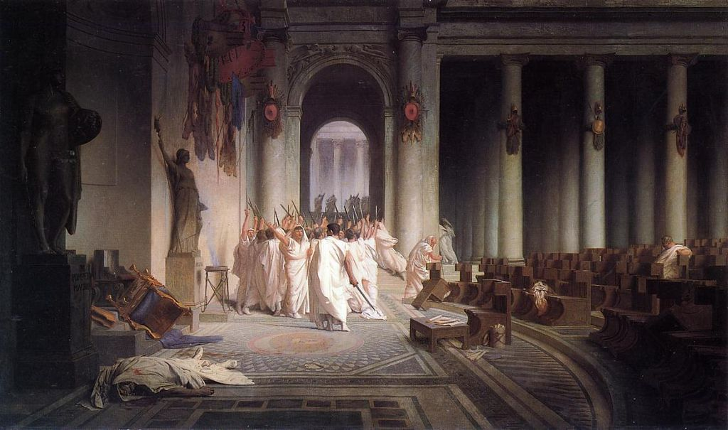 an introduction to the life and death of gaius julius caesar Gaius julius caesar had returned to rome in triumph, hailed as a hero during his time as a roman general, he claimed to have killed almost two million people in.