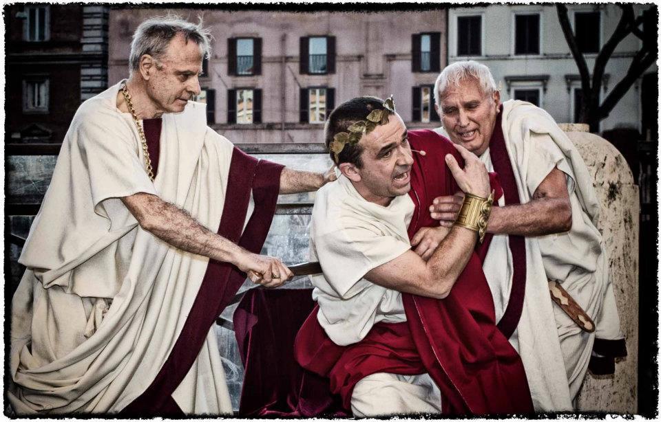 Мартовские Иды в Риме и реконструкция убийства Юлия Цезаря