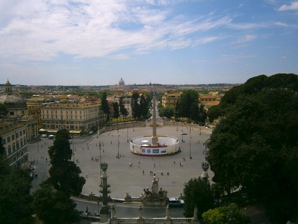 смотровые площадки Рима, Пинчо, бесплатный Рим