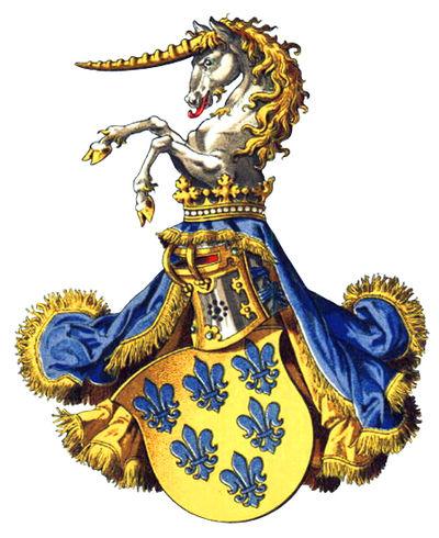 Герб семьи Фарнезе герцоги Пармы