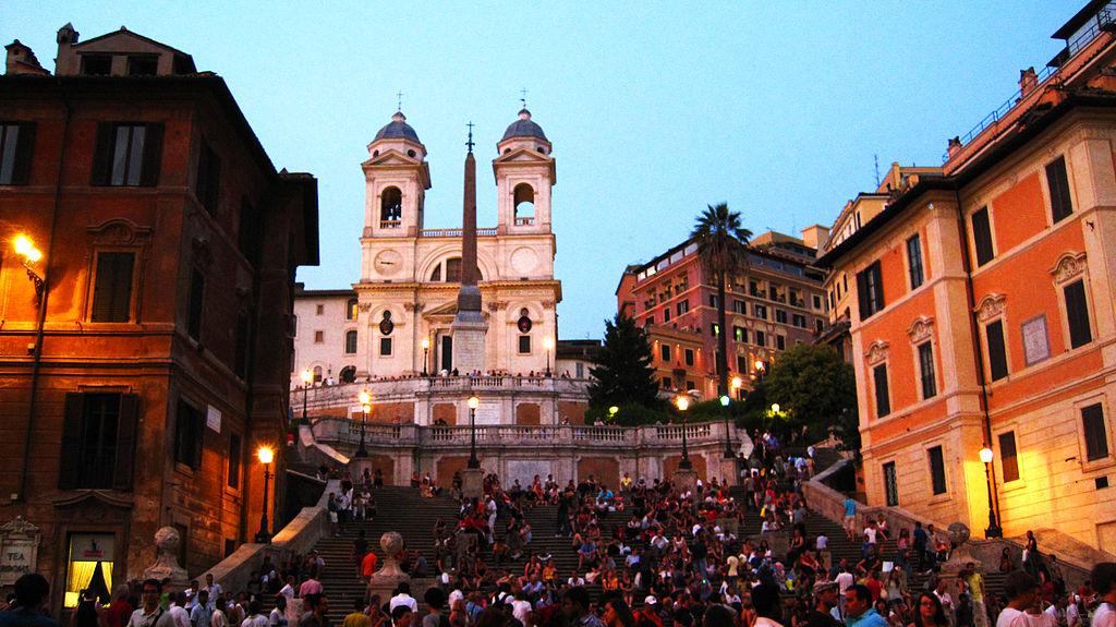 главные достопримечательности Рима вечный город что посмотреть куда сходить история рима скалината тринита деи монти испанская площадь лестница