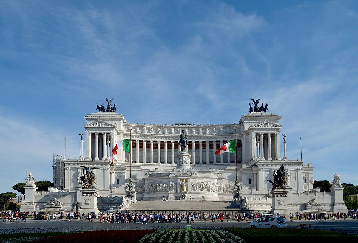 главные достопримечательности Рима вечный город что посмотреть куда сходить история рима витториано алтарь отечества памятник королю италии виктору эммануилу