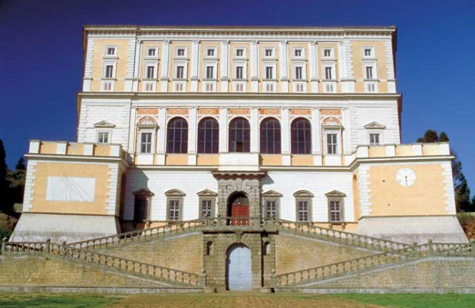 Фарнезе вилла Карпаролла палаццо