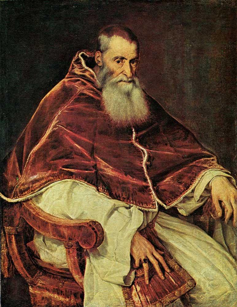 ватикан папа римский Павел III - Алессандро Фарнезе