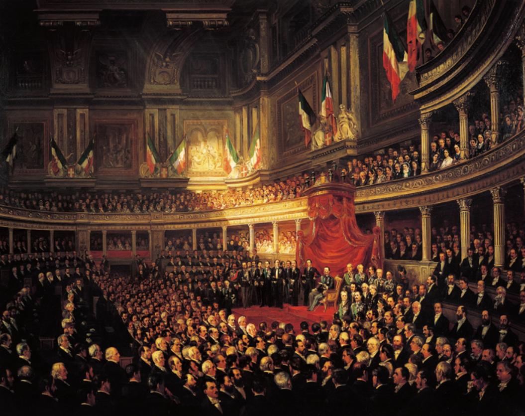 объединение италии итальянское королевство король италии виктор эммануил витторио эммануеле II рисорджименто
