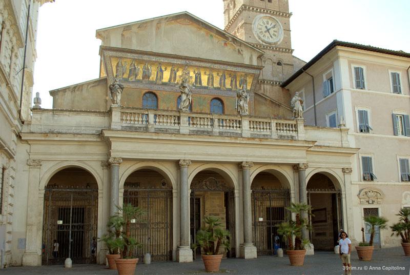 Santa_Maria_Trastevere санта_мария_трастевере рим