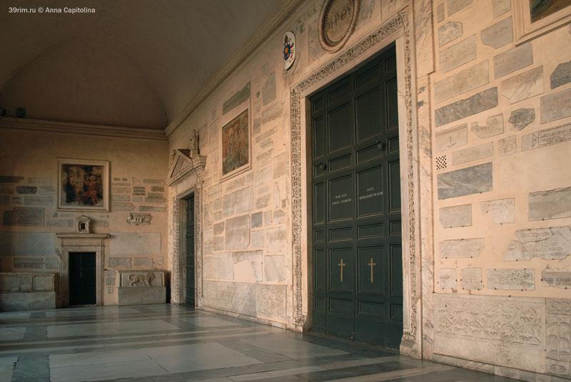 Santa_Maria_Trastevere санта_мария_трастевере рим италия трастевере