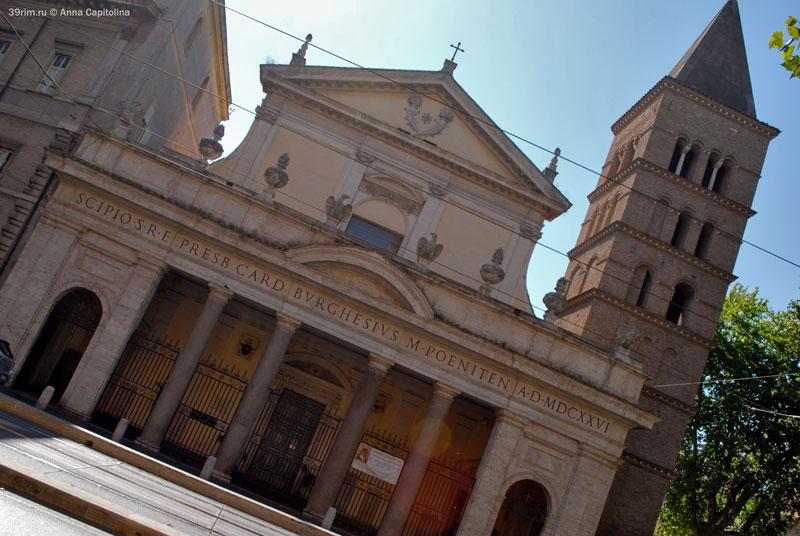 рим_фото , достопримечательности_рима , базилика_святого_хрисогона