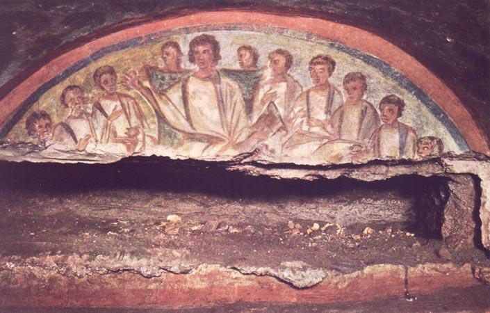рим катакомбы домитиллы