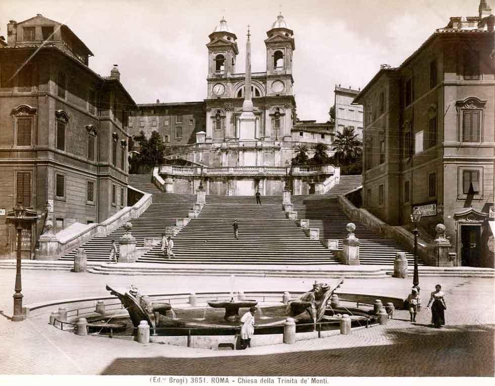 Испанская лестница рим, Scalinata di Trinita dei Monti