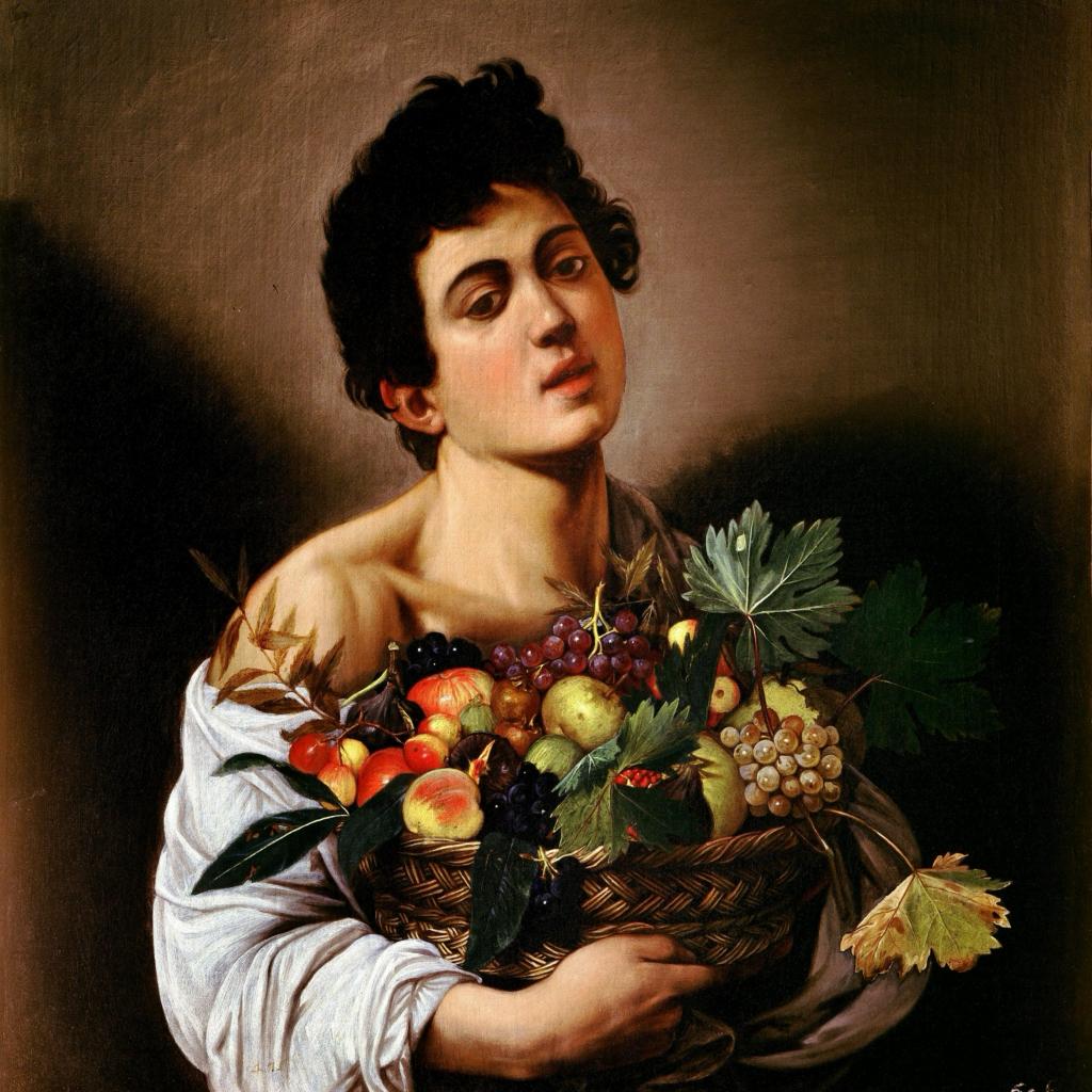 Юноша_с_корзиной_фруктов