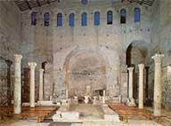 Катакомбы Домитиллы в Риме: 4-х уровневое подземное кладбище