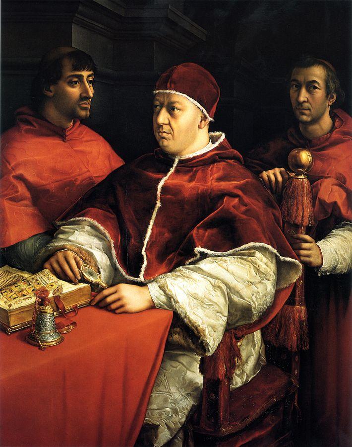 Папа римский лев X джованни медичи династия понтифик