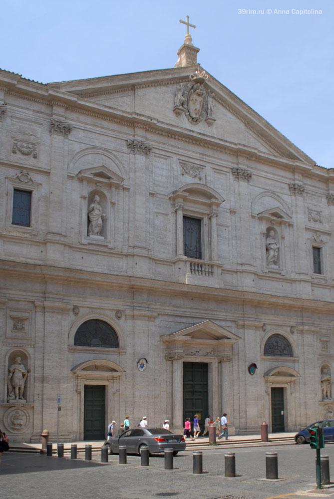 итальянский архитектор скульптор художник эпоха возрождения великие мастера рим  в риме церкви базилики храмы рима сан луиджи деи франчези