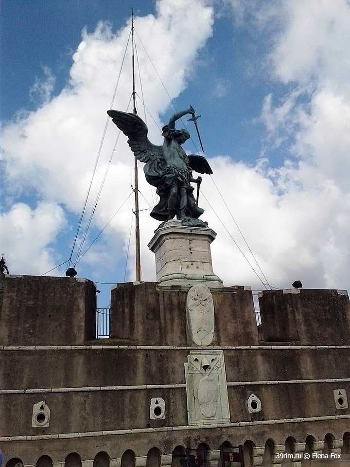 святой_ангел , замок_святого_ангела , замок_сант_анджело_рим