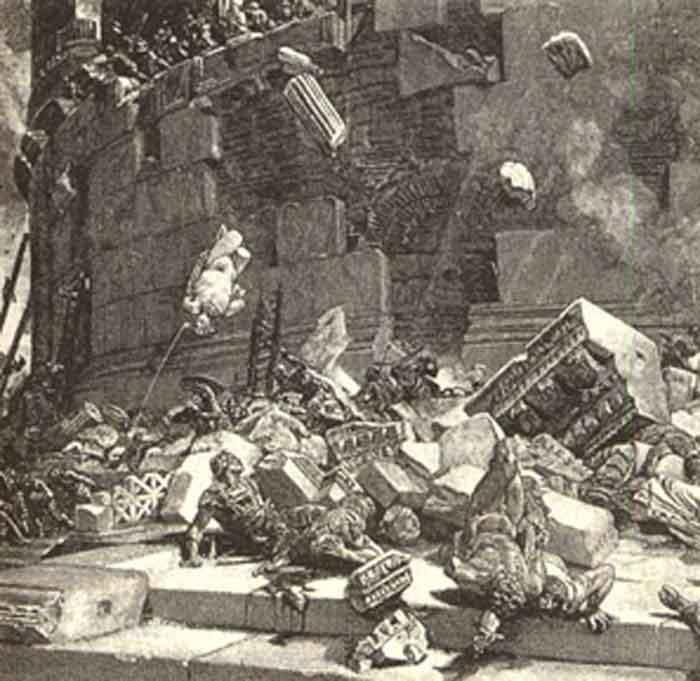 Lodovico Pogliaghi , осада замка