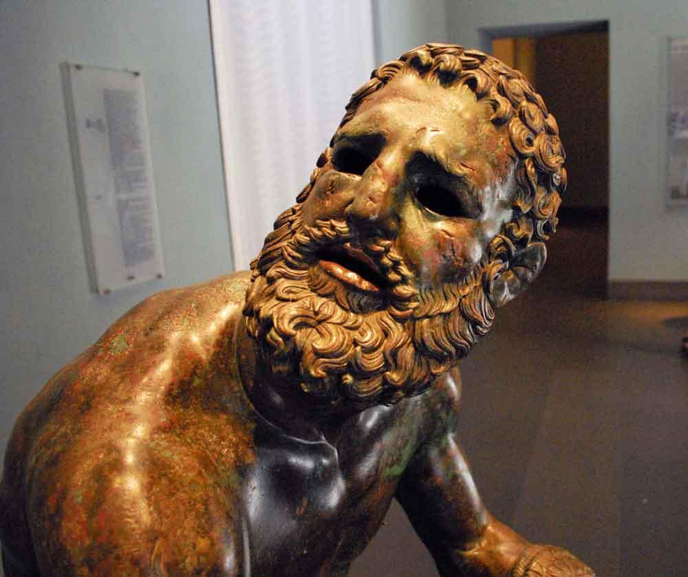скульптуры древнего Рима , древние скульптуры Рима , квиринальский_боксер