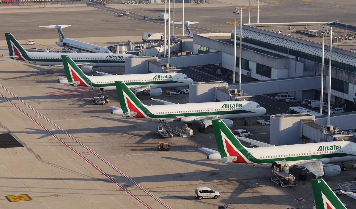 Фьюмичино, Аэропорт Рим