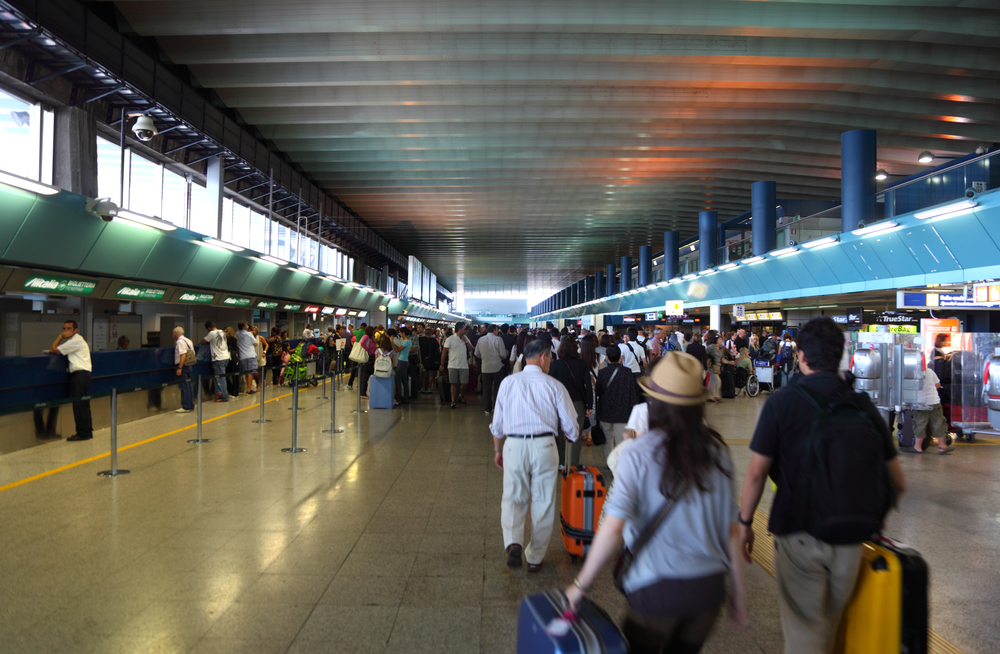 Аэропорт Рима Леонардо да Винчи Фьюмичино международный аэропорт Рима