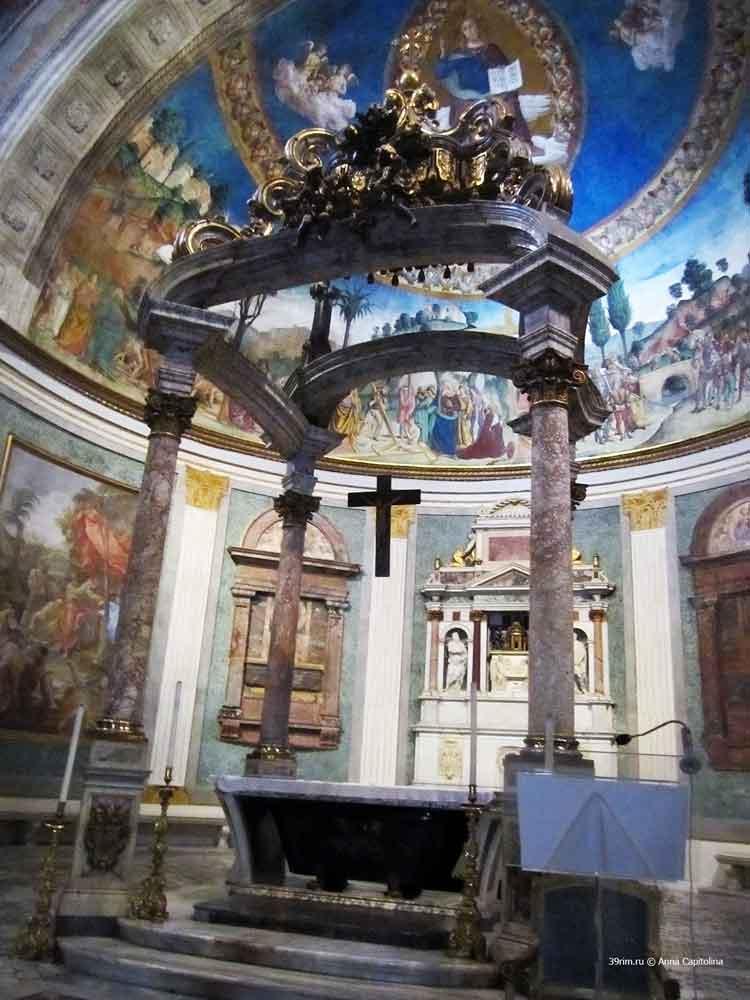 базилика , Санта_Кроче_ин_Джерусаллеме , святой крест