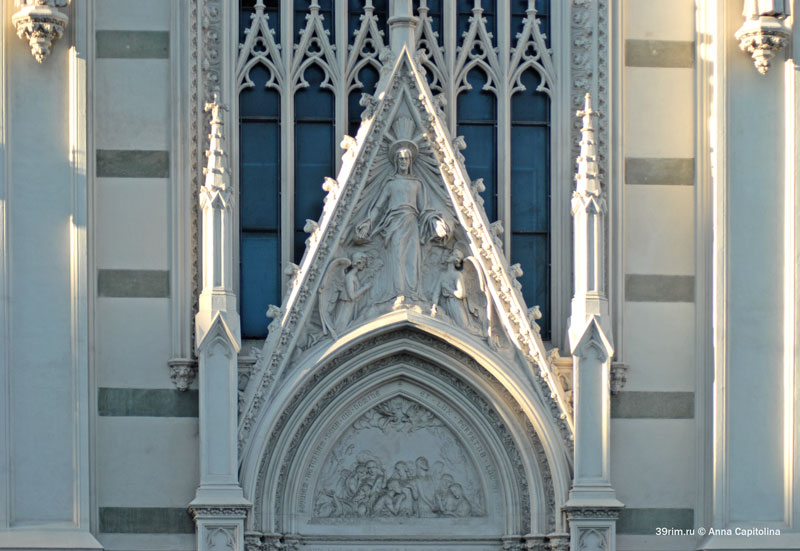 Церкви Рима, церковь Святого сердца, готическая церковь рим