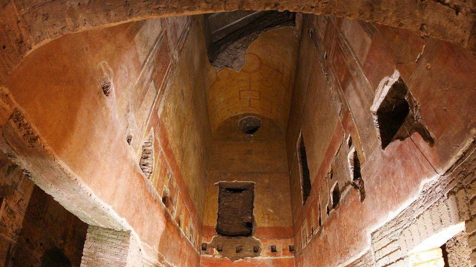 архитектура древнего рима археологические находки древние постройки домус ауреа золотой дом нерона domus aurea