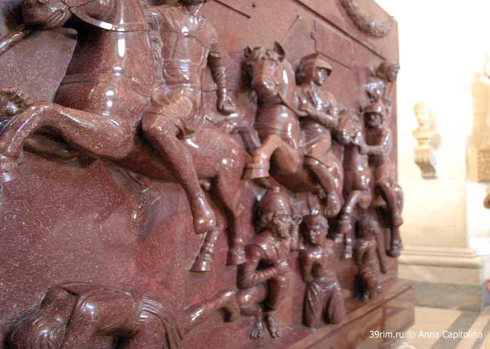 саркофаг елены, ватикан