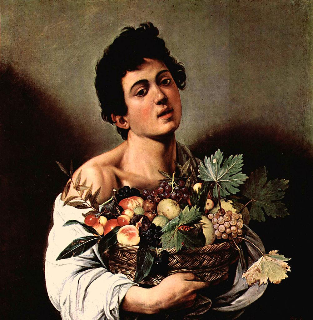 галерея боргезе шедевры караваджо микеланджело меризи картины музеи рима эпоха возрождения барокко мальчик с корзиной фруктов