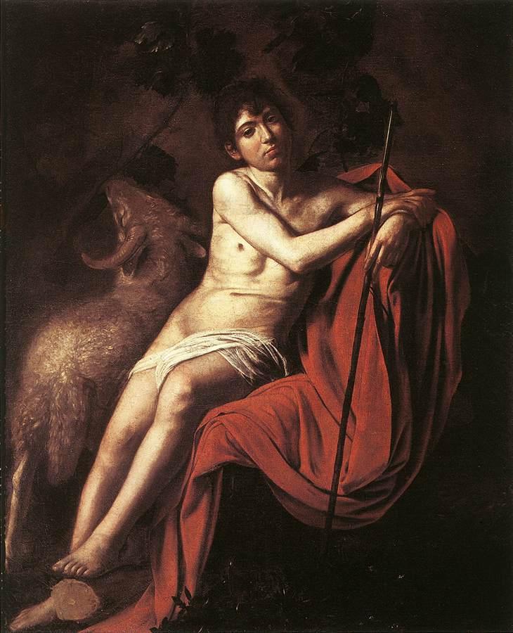 галерея боргезе шедевры караваджо микеланджело меризи картины музеи рима эпоха возрождения барокко иоанн креститель