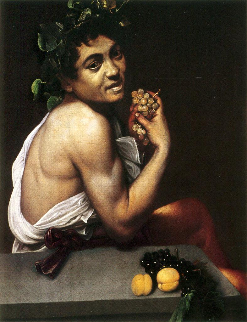 галерея боргезе шедевры караваджо микеланджело меризи картины музеи рима эпоха возрождения барокко боьной вакх
