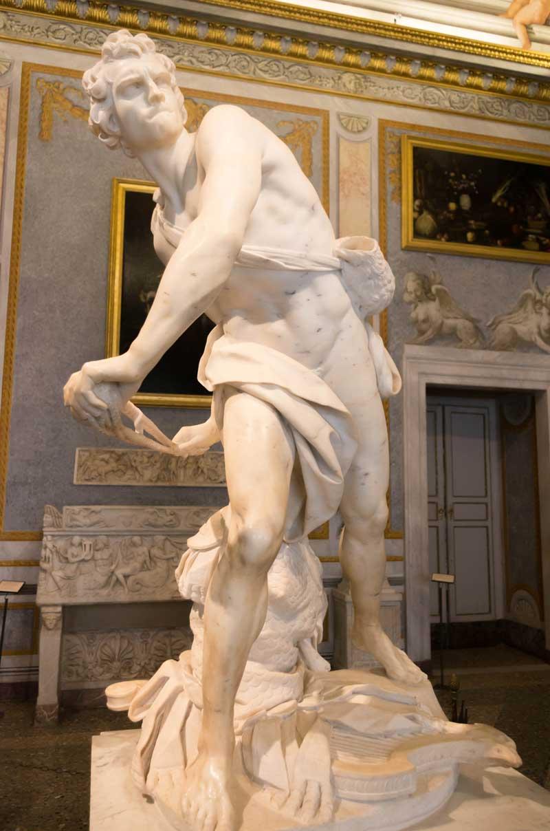 галерея боргезе шедевры лоренцо бернини давид скульптура музеи рима эпоха возрождения барокко