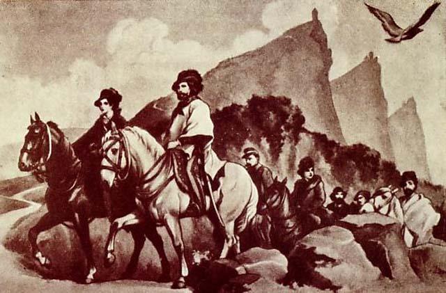 Giuseppe_e_Anita_Garibaldi_trovano_rifugio_a_San_Marino
