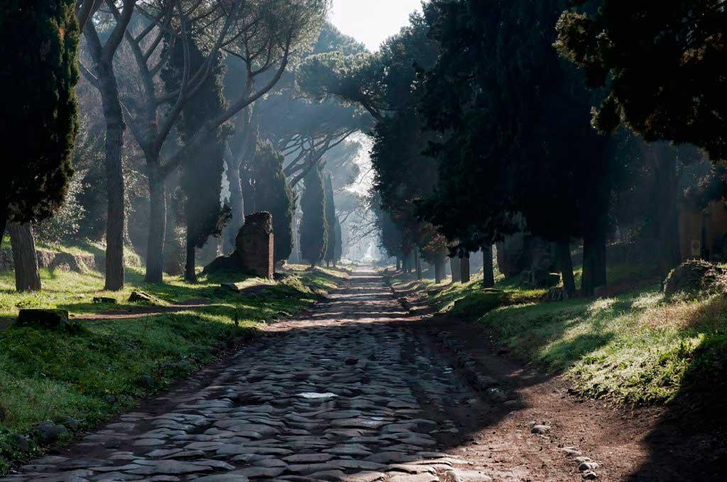 аппиева дорога виа уица аппиа антика древняя достопримечательности дороги рима древний рим
