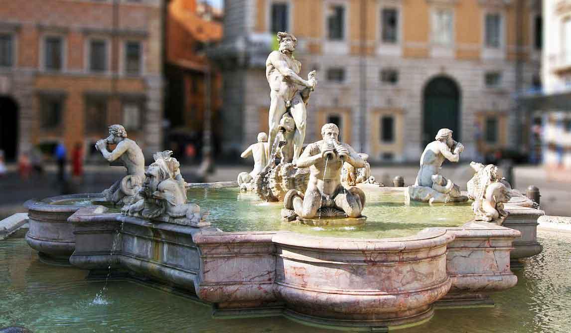 фонтан мавра