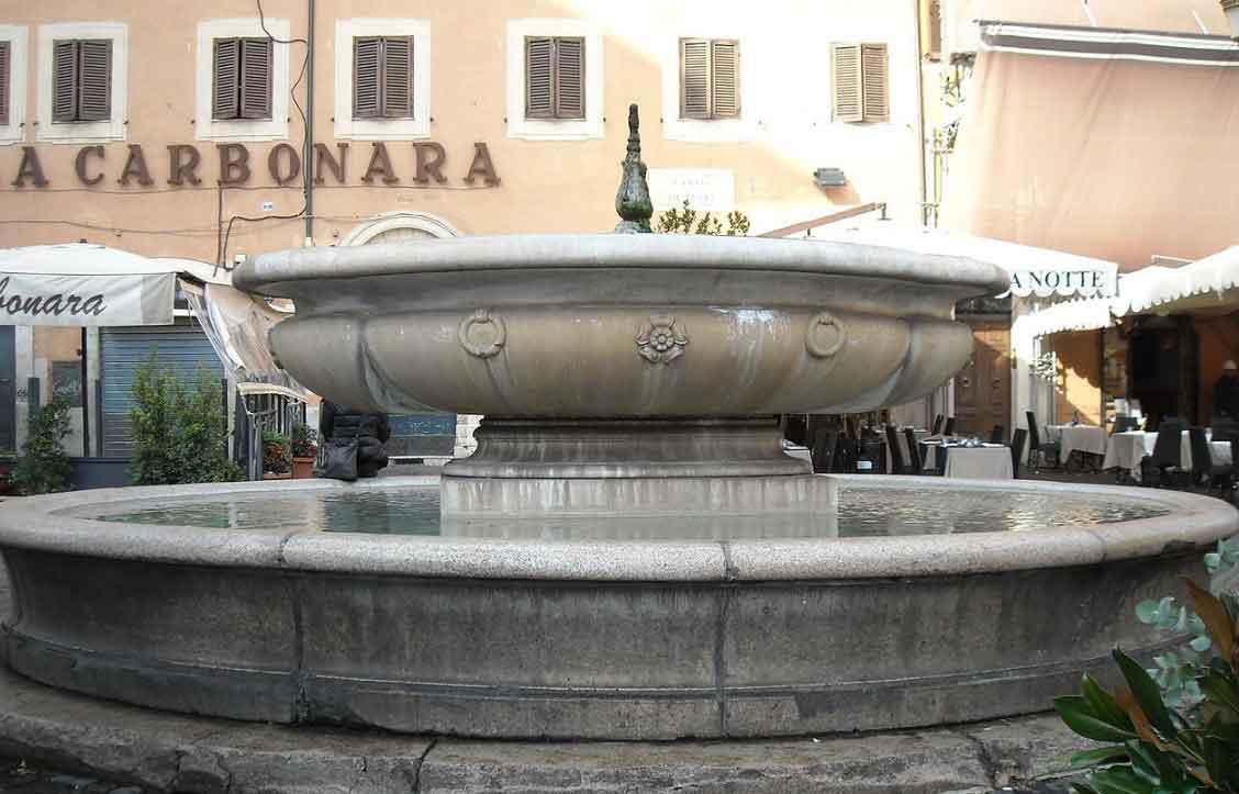 фонтан площади кампо деи фьори