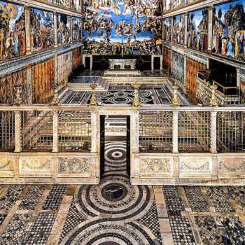 Необычный Рим для любителей оптических иллюзий