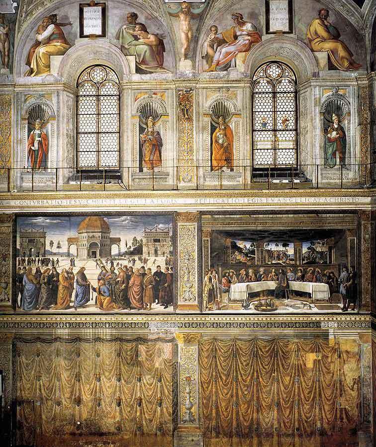 Сикстинская капелла, фрески сикстинской капеллы, Cappella_sistina