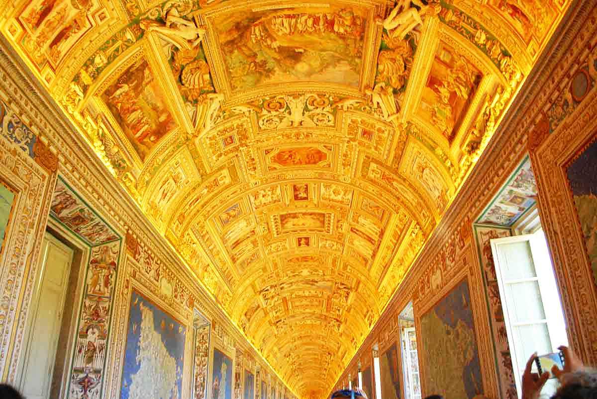 галерея карт достопримечательность ватикана фото