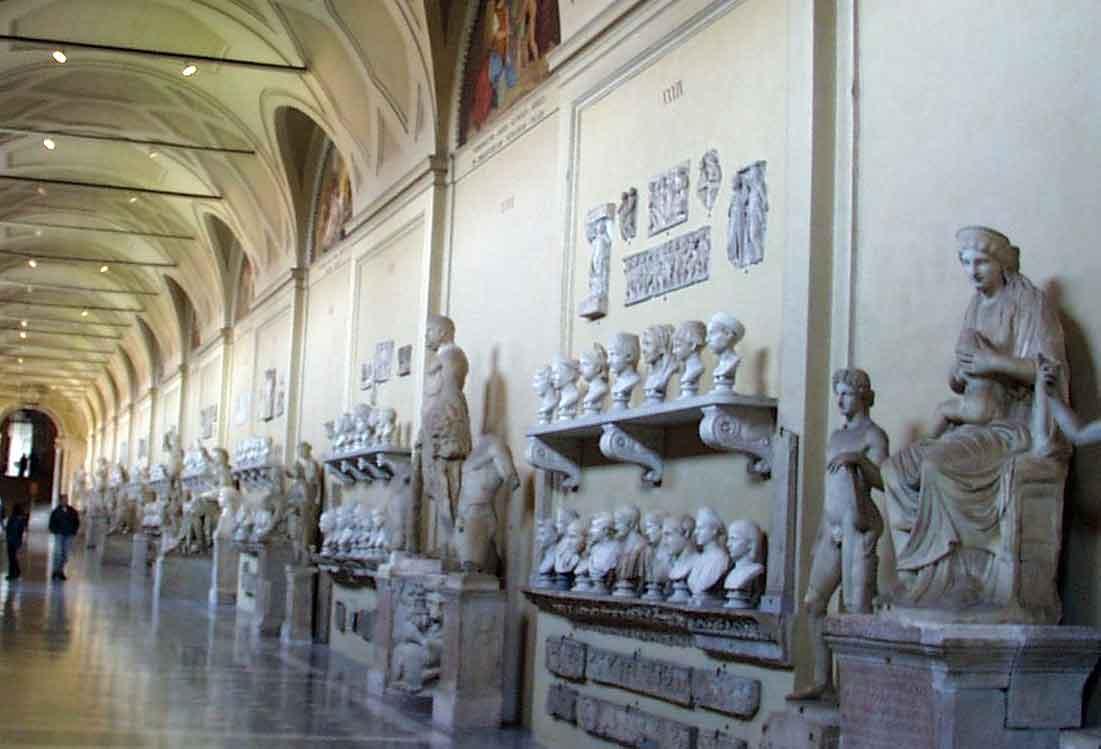 музеи ватикана, галерея Кьярамонти, Galerria Chiaramonti, Museo Chiaramonti