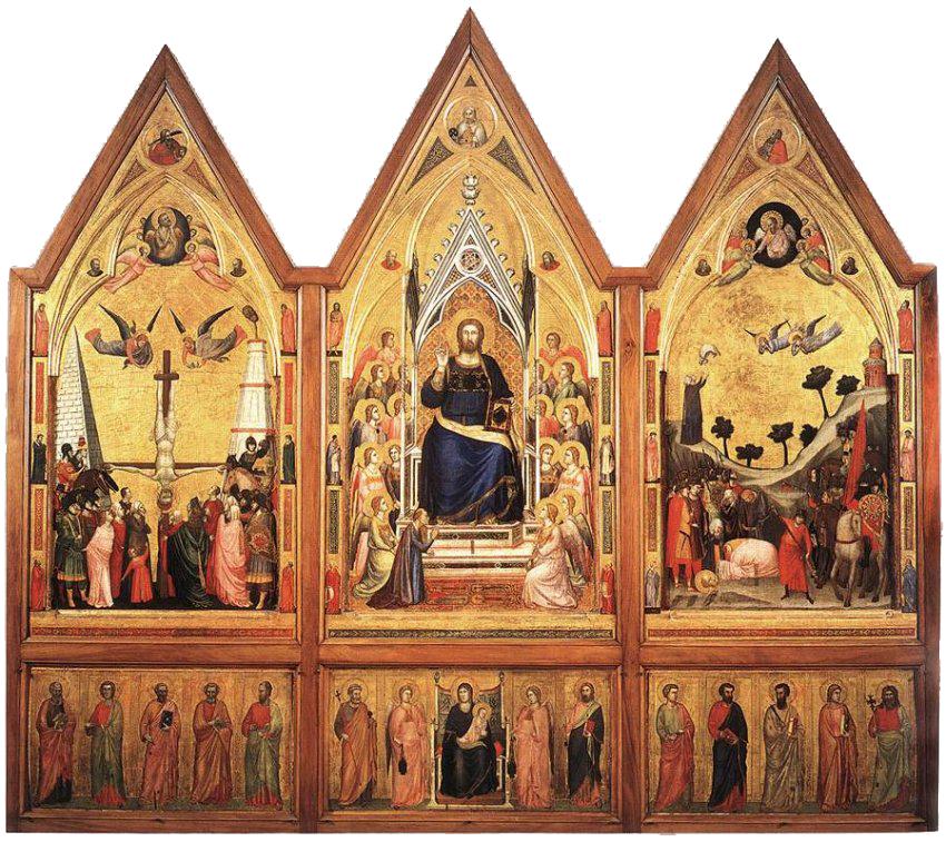 джотто, галерея ватикана