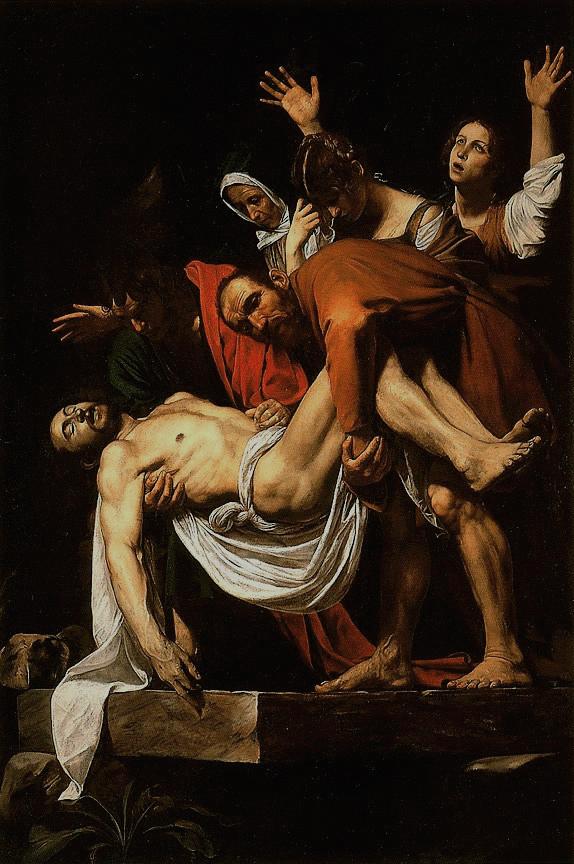 караваджо положение во гроб галерея ватикана