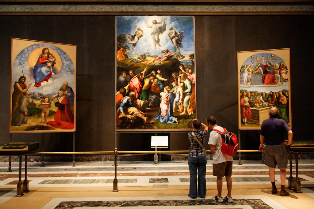 Галерея Ватикана, Зал Рафаэля