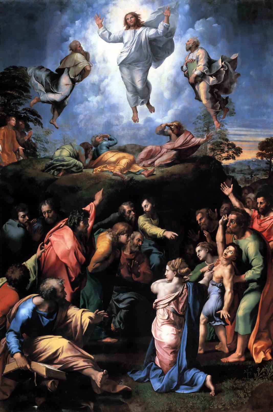 Преображение рафаэль санти галерея ватикана