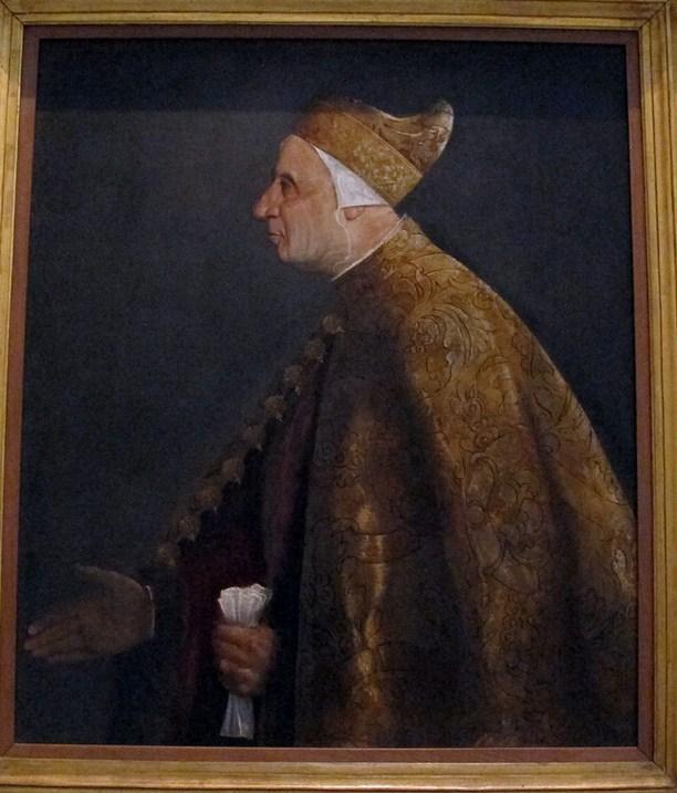 галерея ватикана портрет дожа тициан