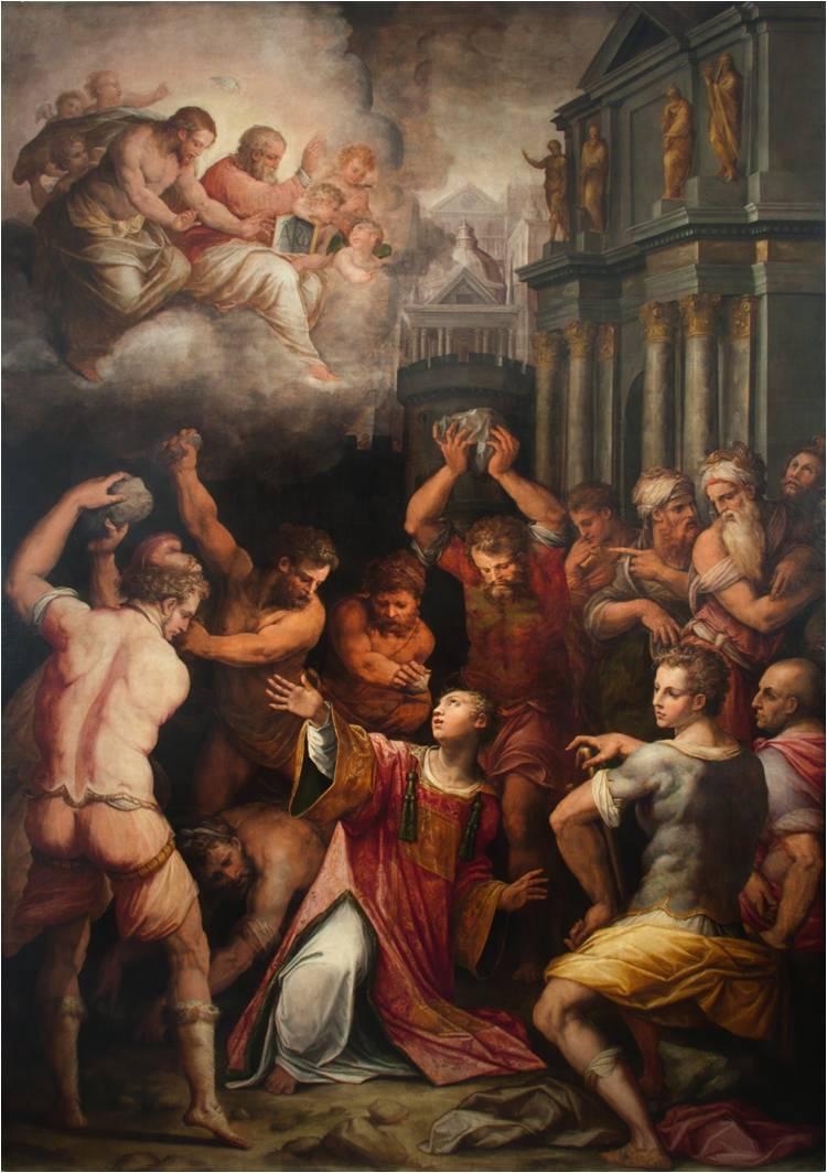 джорджо вазари мученечество святого стефана галерея ватикана