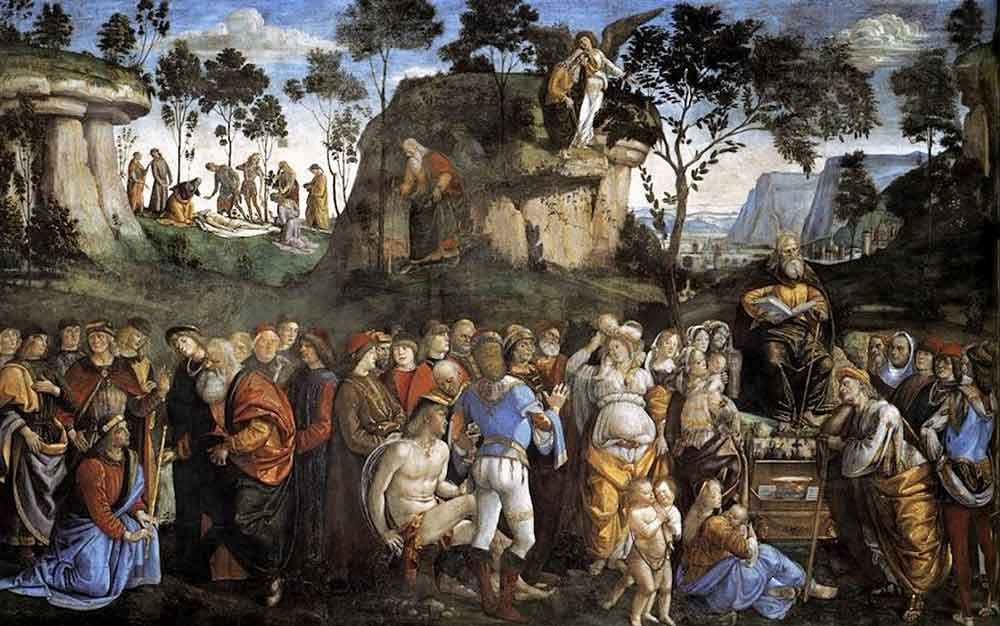 Signorelli_Moses's_Testament_and_Death