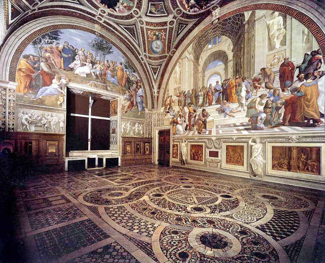 станцы рафаэля, музеи ватикана, musei vaticani, Stanze_di_Raffaello